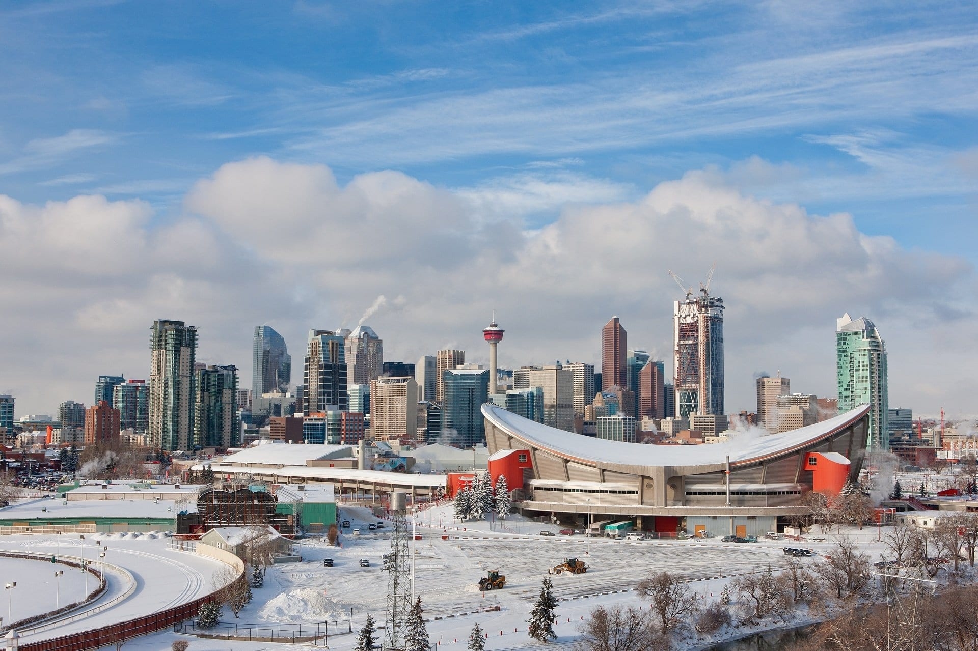 Calgary-Roofing-repairs-winter-saddle-dome-claw-roofing-downtown