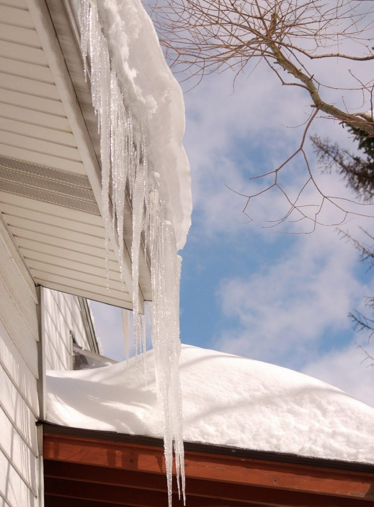 Calgary-roof-repair-ice-dams-Claw-Roofing