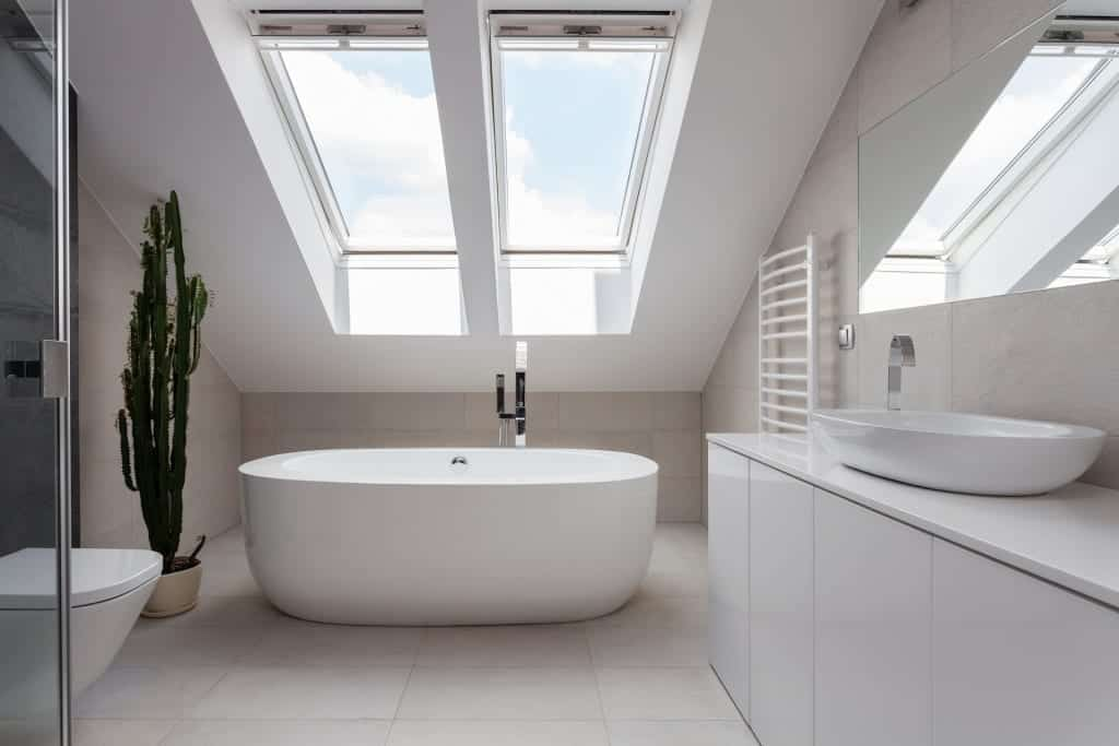 bathroom-skylight-residential-Claw-Roofing-Calgary