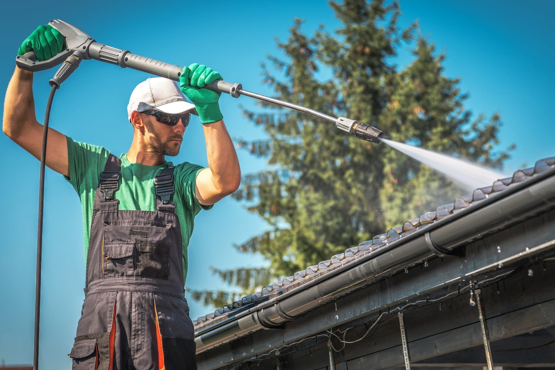 power-washing-roof-roofing-repairs | Claw Roofing Calgary