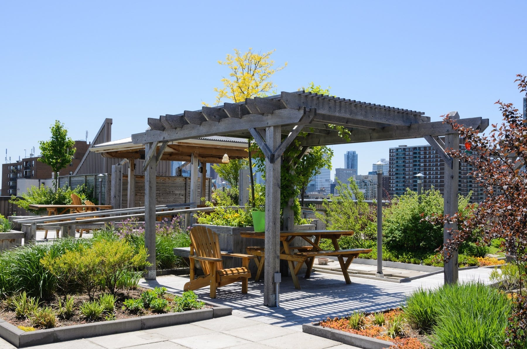 Calgary Roofing Companies | Claw Roofing | Flat Rooftop Garden