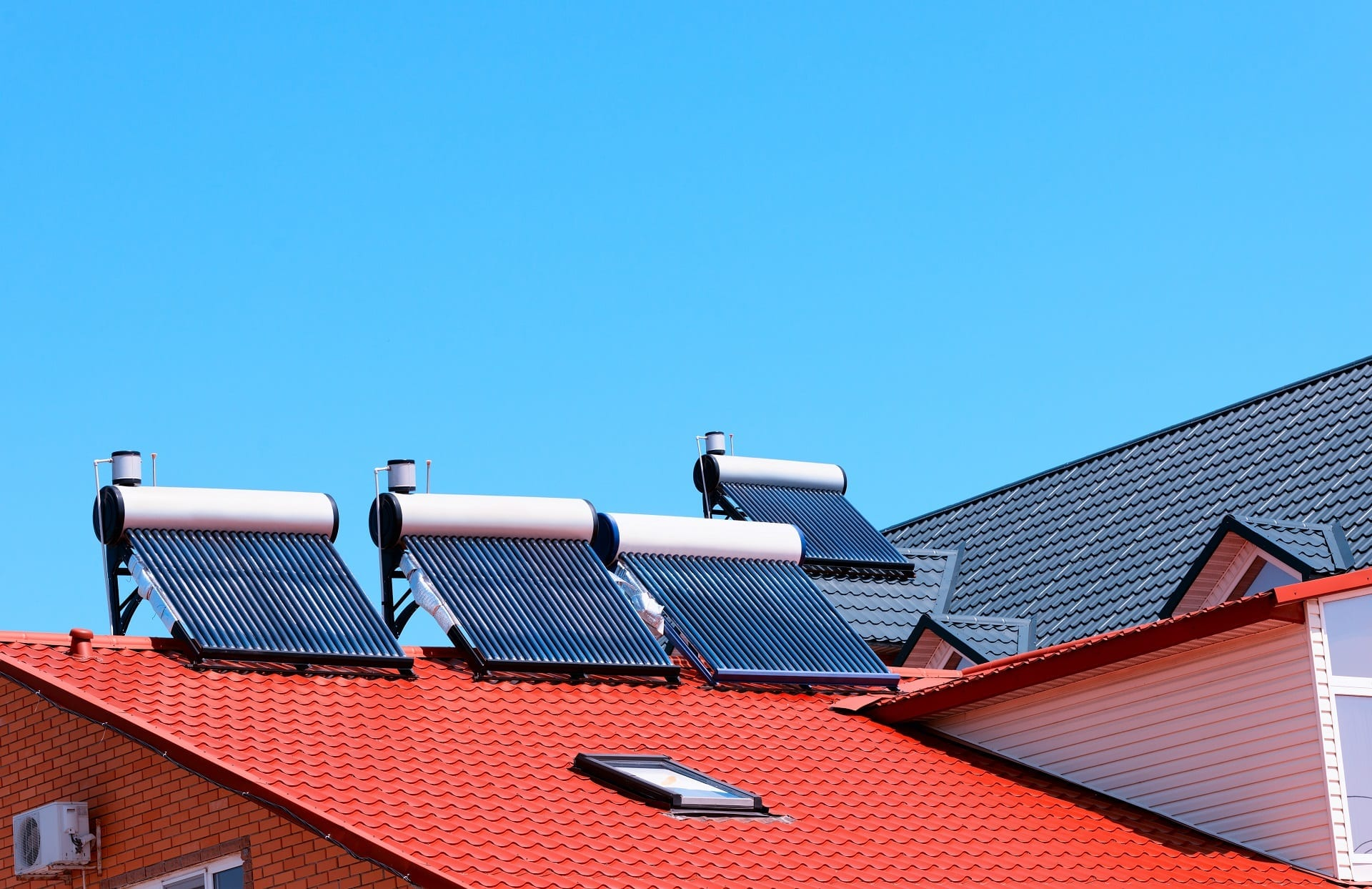 rooftop-solar-panels-hot-water-Claw-Roofing-Calgary