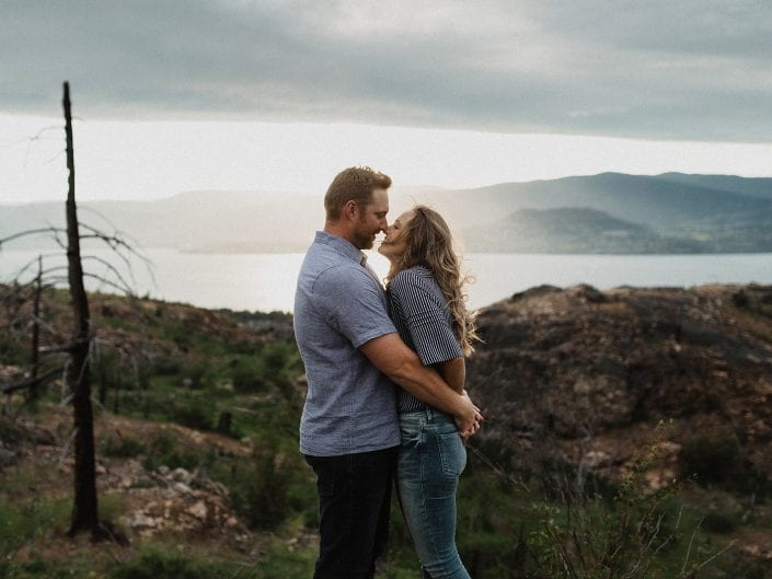 Jessica and Travis - Kelowna Engagement Session