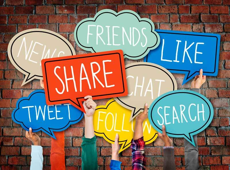 dominate the market with social media