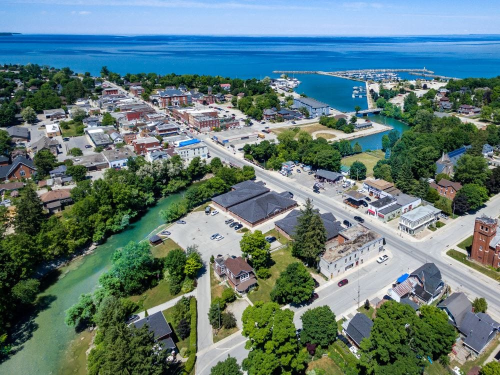 Meaford aerial view