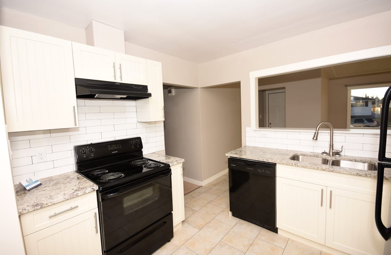 kitchen renovation in Edmonton income property